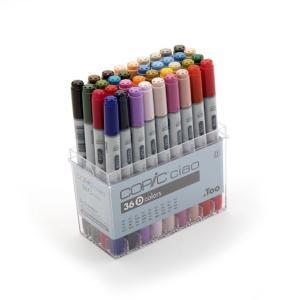 コピック カラーペンCOPIC コピックチャオ 36色 Dセット|yumegazai