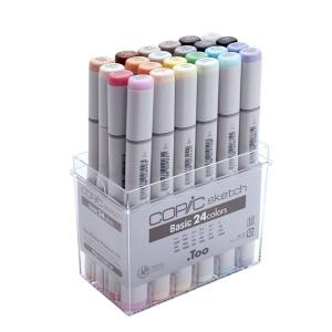 COPIC コピックスケッチ ベーシック24色セット|yumegazai