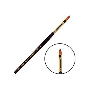 アメリカンクラフトライフ クラフト筆 シリーズ9000 丸平筆 #6