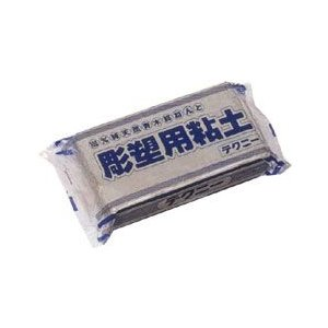 石膏 型取り彫塑粘土 テクニー 1000g|yumegazai