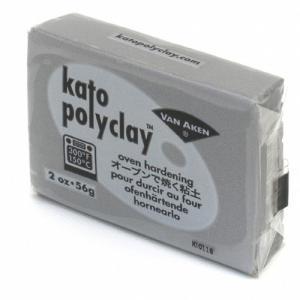 オーブン粘土katopolyclay オーブン粘土 2オンス(56g) シルバークレイアート用具 ねんど|yumegazai