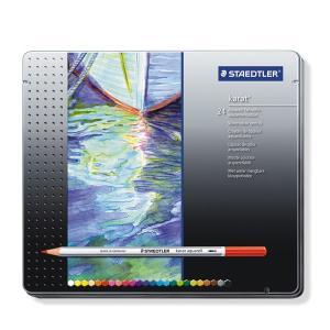 STAEDTLER ステッドラー カラト アクェレル 水彩色鉛筆 24色セット 125-M24