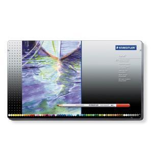 STAEDTLER ステッドラー カラト アクェレル 水彩色鉛筆 60色セット 125-M60