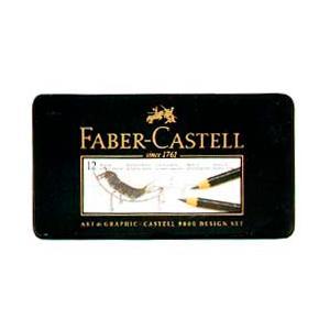 Faber-Castell 9000番鉛筆 デザインセット|yumegazai