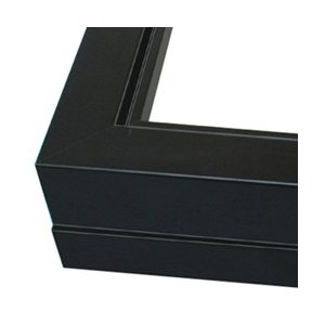 仮縁 プット26角 M20 黒【メーカー直送・代引き不可】|yumegazai