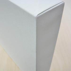 KF 包み張りキャンバス 並厚 P10 オフホワイト (フローティング・キャンバス) yumegazai
