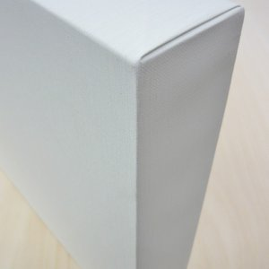 KF 包み張りキャンバス 並厚 P12 オフホワイト (フローティング・キャンバス) yumegazai