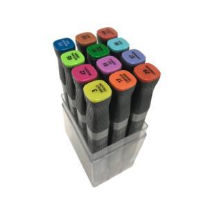 MEPXY デザインマーカー 12色セット ベーシック