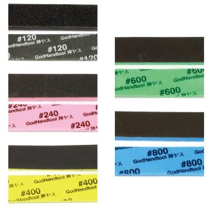 ゴッドハンド 神ヤス 2mm 5種類セット (各1枚入) スポンジ布やすり|yumegazai