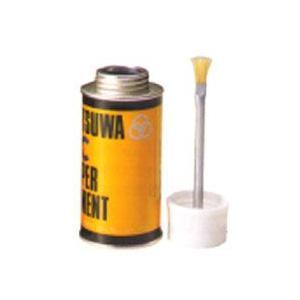 のり 接着剤ミツワ ペーパーセメント RC (片面 無伸縮・樹脂加工紙用) 丸缶 250cc|yumegazai