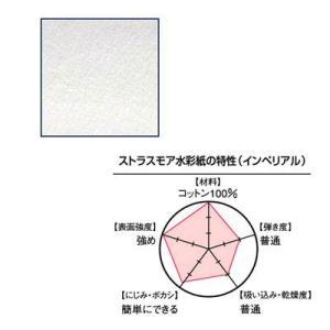 Strathmore ストラスモア (インペリアル) カット紙300g 細目 280×190mm 4枚入り yumegazai