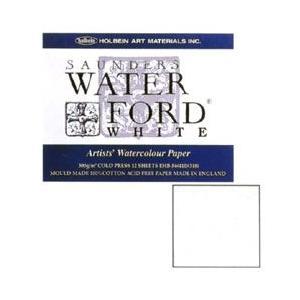 WATERFORD ウォーターフォード水彩紙 ホワイト・ブロック EHB-SM|yumegazai