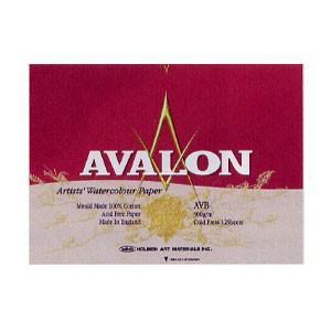 AVALON アヴァロン 水彩紙 ブロック AVB-F4|yumegazai