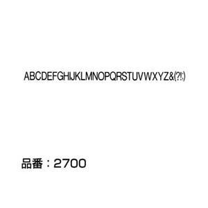 書体名:Helvetica Light 文字サイズ:10pt(大文字) マクソンレタリングは無伸縮フ...