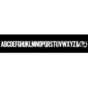 書体名:Alternate Gothic 文字サイズ:30pt(大文字) マクソンレタリングは無伸縮...