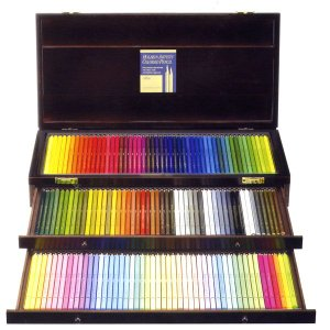 アーチスト色鉛筆 150色セット (全色 木函入) yumegazai