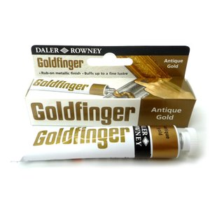 DALER ROWNEY ゴールドフィンガー 22ml 古代色ゴールド|yumegazai