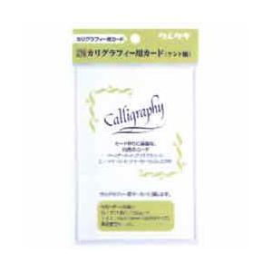 ZIG カリグラフィー用カード (ケント紙) 20枚|yumegazai