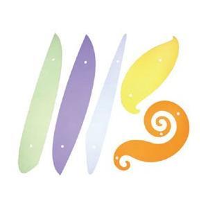 ユニカーブ定規 (5枚組)|yumegazai