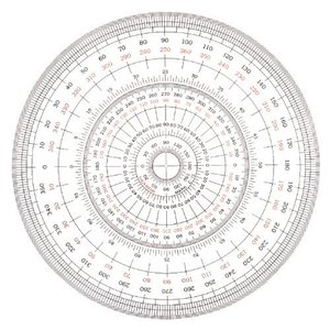 全円分度器 15cm|yumegazai