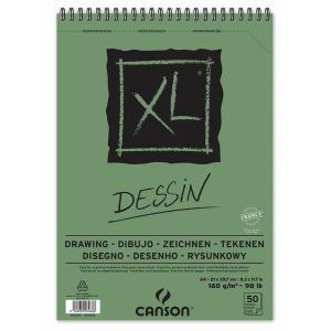 CANSON キャンソン XL デッサン A4 スパイラル|yumegazai