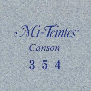 カラーペーパー キャンソン ミ・タント ポストカード 354 スカイグレー 50枚 yumegazai