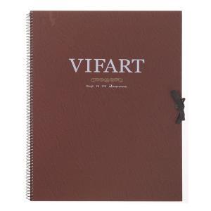 vifArt ヴィフアール水彩紙 スケッチブック F6 荒目 18枚|yumegazai