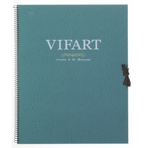 vifArt ヴィフアール水彩紙 スケッチブック F6 中目 18枚|yumegazai