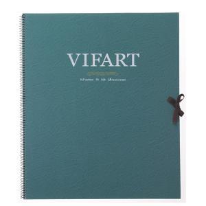 vifArt ヴィフアール水彩紙 スケッチブック F8 中目 18枚|yumegazai