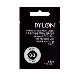 染色 染料DYLON ダイロン Newマルチパック #08 エボニーブラック|yumegazai