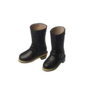 オビツ27オビツドール 27SH-F003B エンジニアブーツ(女) 黒靴 シューズ|yumegazai