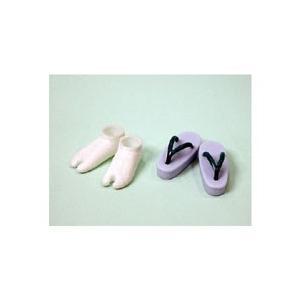 オビツドール 27SH-F010L 草履・足袋セット 青|yumegazai