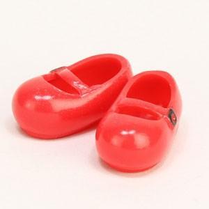 オビツ11オビツドール 11cm おでこ靴 赤 マグネット付き靴 シューズ yumegazai