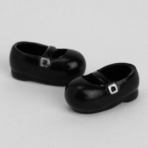 オビツ11オビツドール 11cm おでこ靴 黒 マグネット付き靴 シューズ yumegazai