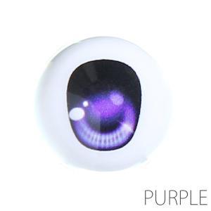 オビツ ドールアイ尾櫃瞳(オビツアイ)Aタイプ 18mm パープル人形の目|yumegazai