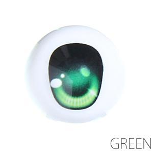 オビツ ドールアイ尾櫃瞳(オビツアイ)Bタイプ 18mm グリーン人形の目|yumegazai