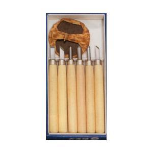 彫刻刀セット 小学生にぴったりマルイチ彫刻刀 6本組セット バレン付