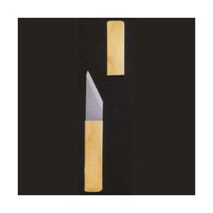 小刀義春 ペナントナイフSS 真鍮サヤ刃物|yumegazai