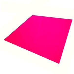 コンサート応援用フィルムシート タックシート蛍光色(30cm×30cm) ピンク|yumegazai