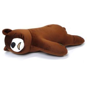 もっちりやわらか抱き枕 床ごこちJr. クマのごろうくん AR0628136 yumegazai