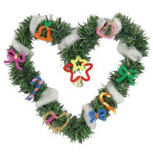 クリスマスリース作りリース 玄関 飾り 手作りキット|yumegazai