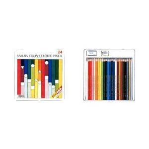 クーピー色鉛筆 24色セット スタンダード yumegazai