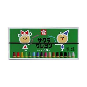 SAKURA クレヨン太巻き 16色セット