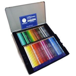 ヴァンゴッホ 色鉛筆 60色セット (メタルケース入り)|yumegazai
