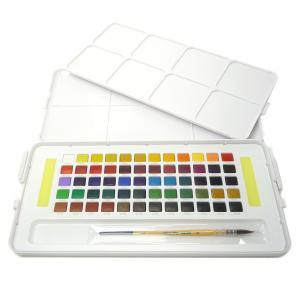 SAKURA プチカラー 透明固形水彩 60色セット yumegazai
