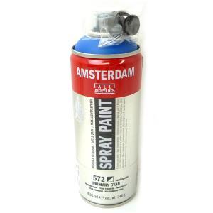 アムステルダム スプレーペイント 572 プライマリーシアン 400ml T1716-572|yumegazai