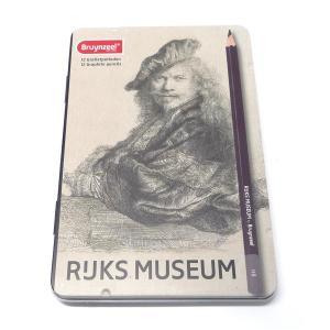 アムステルダム国立美術館×ブラジール グラファイト鉛筆 12本 限定パッケージ (レンブラント×自画像)|yumegazai