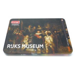 アムステルダム国立美術館×ブラジール 色鉛筆 50色セット 限定パッケージ (レンブラント×夜警)|yumegazai