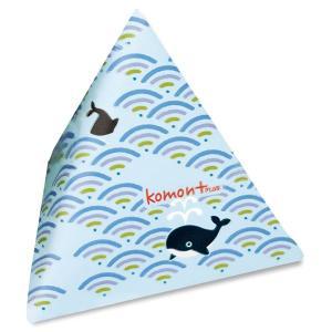 komon+ コモンプラス てとらぽっち 青海波クジラ|yumegazai
