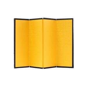 ミニ金屏風 4曲 100×148mm|yumegazai
